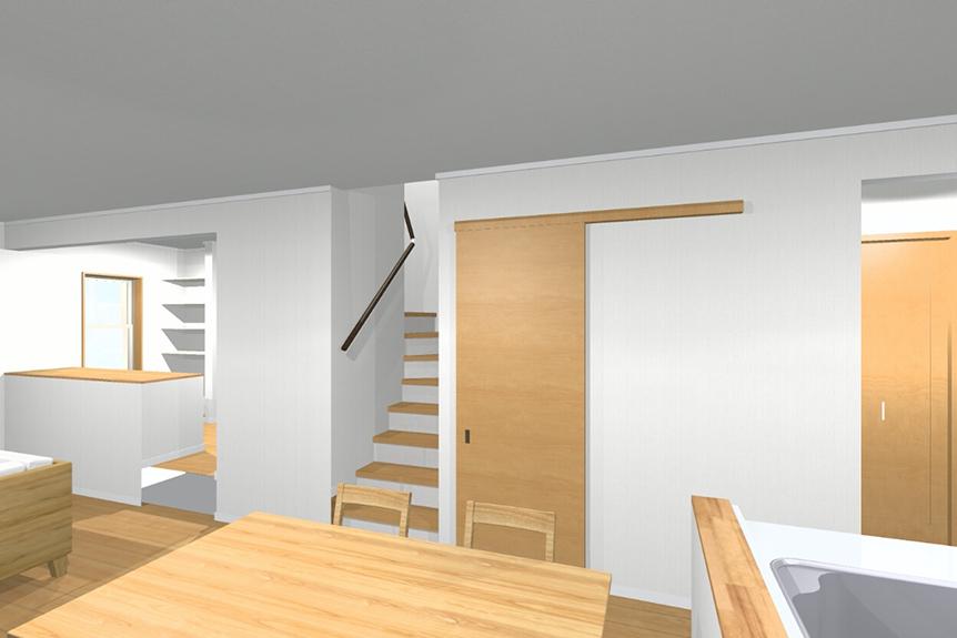 コロナ禍中、増えるお家時間に重宝。多様な使い方をすることができる贅沢スペース。